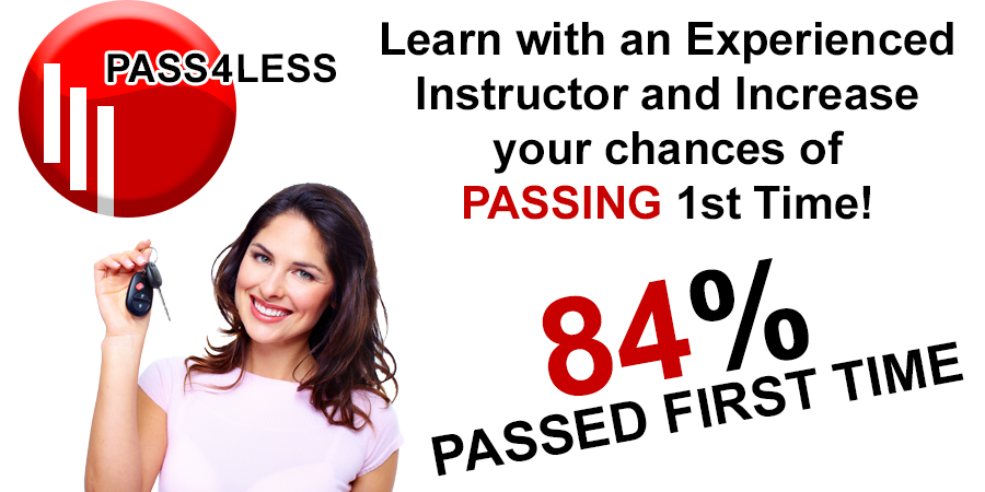 Driving lessons with Pass 4 Less